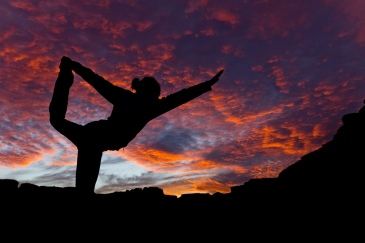 yoga-at-sunset