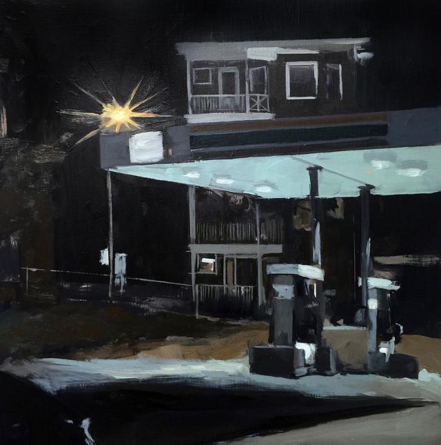 Rachel Clark Gas Station